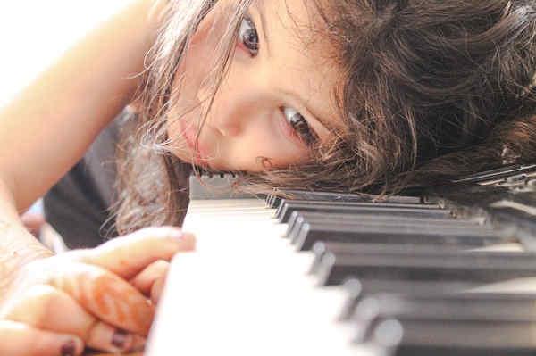 ピアノを練習しない子ども