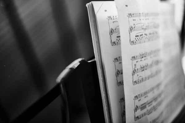 音感を身に付ける練習の楽譜