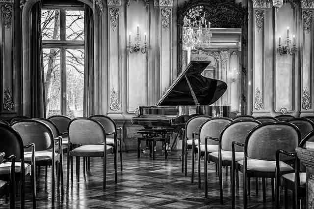 ピアノのコンサート会場