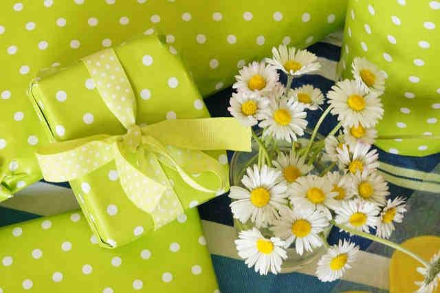 花束とギフト